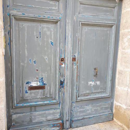 Porte pendant préparation