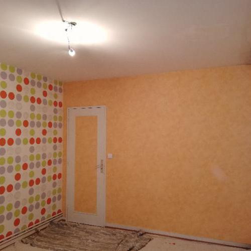 Réfection d'une chambre à Caudéran
