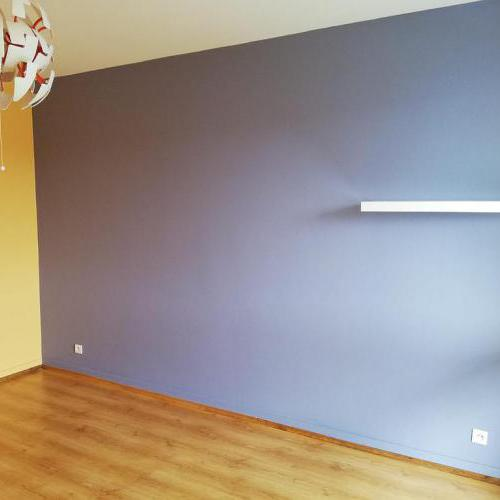 Chambre après mise en peinture